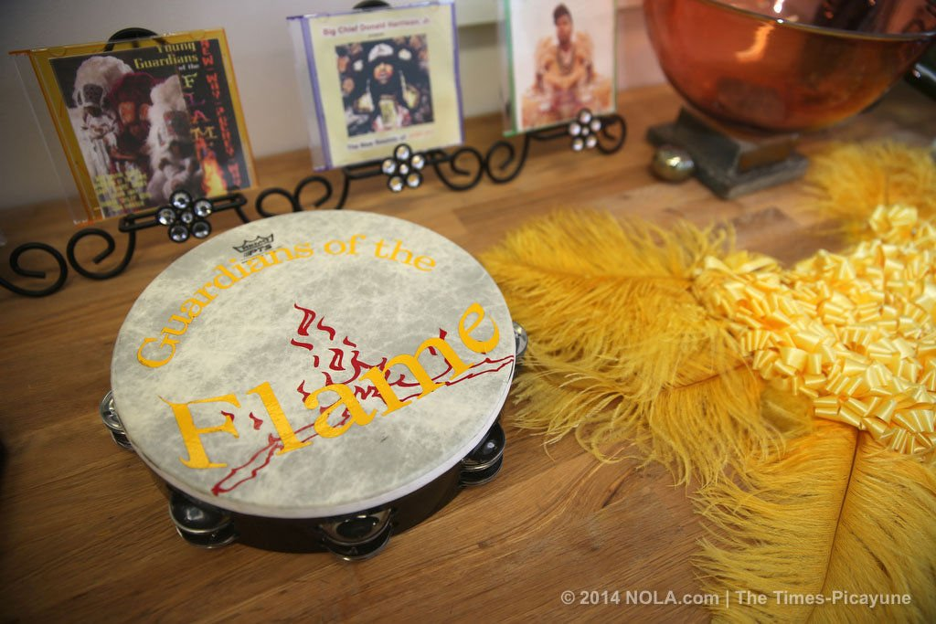 A tribute to the big chief: Donald Harrison Sr.'s family turn their yard into a Mardi Gras Indian cultural center