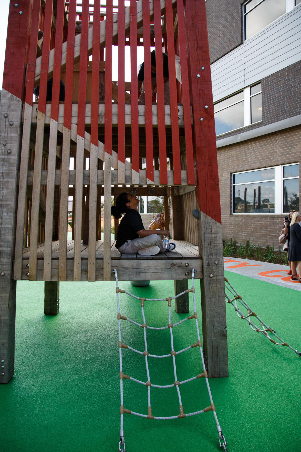Paul Habans Charter unveils the 1st 'green schoolyard' in New Orleans
