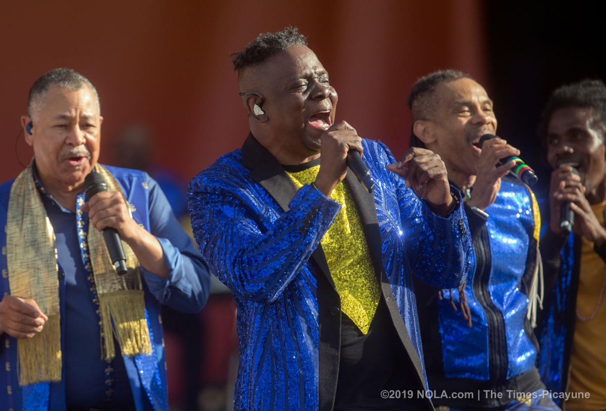 Earth, Wind & Fire performs during Jazz Fest 2019