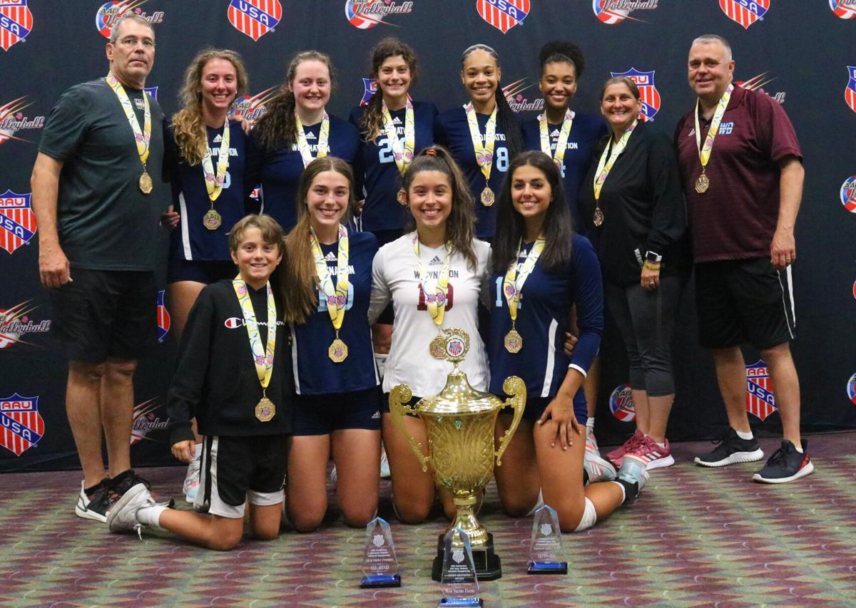 Local 18U AAU volleyball team wins national title