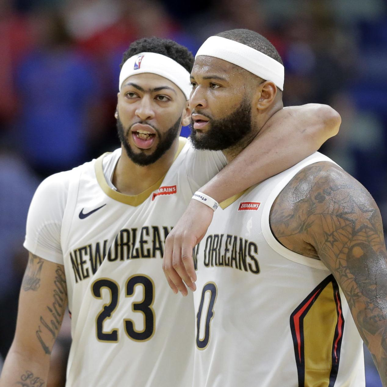 reputable site 8a2df 49533 Report: DeMarcus Cousins to rejoin former Pelicans teammate ...