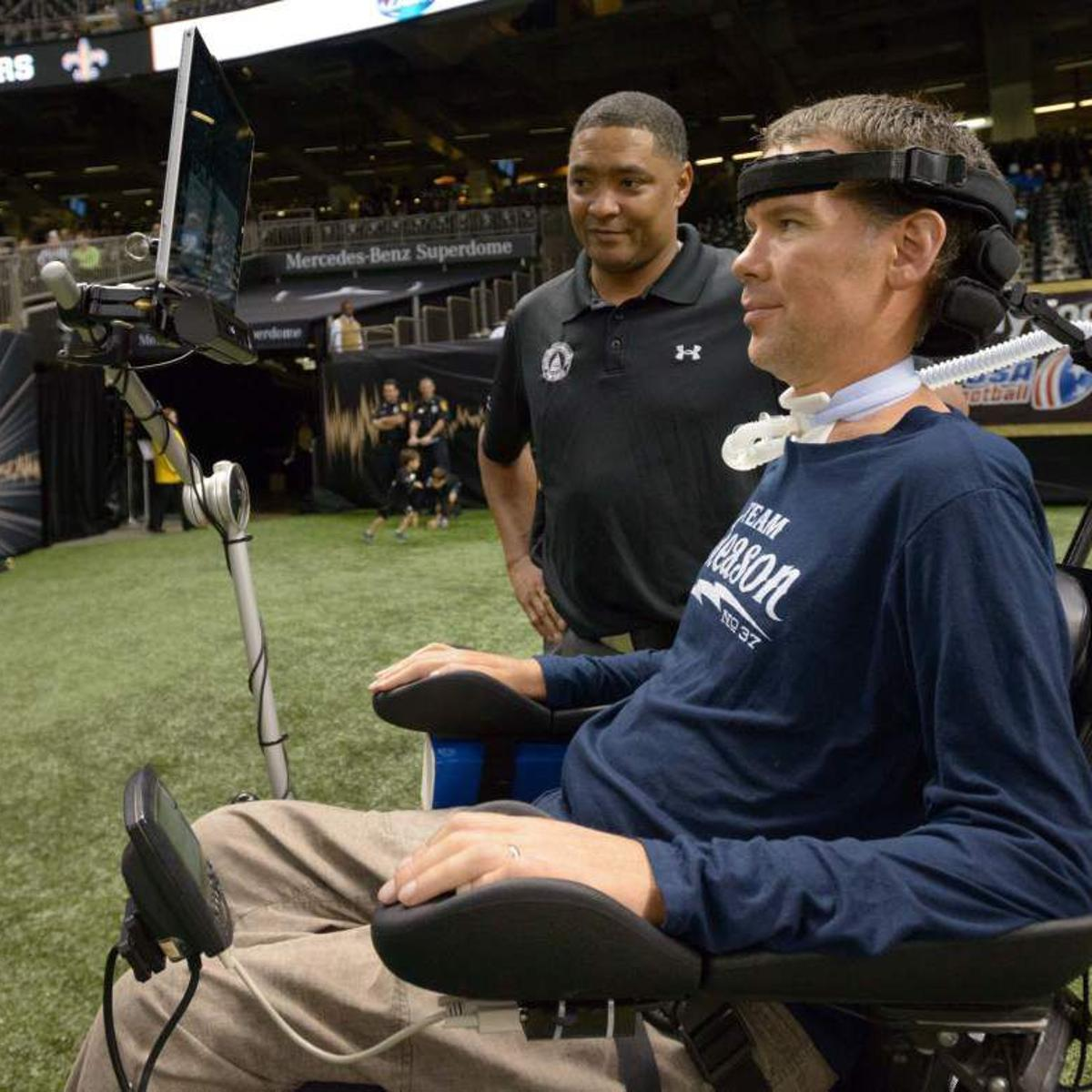 Report Former Saints Player Steve Gleason S Team Gleason