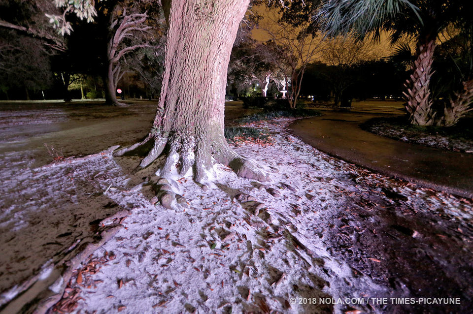 Wintry weather hits New Orleans: live updates | Weather | nola com