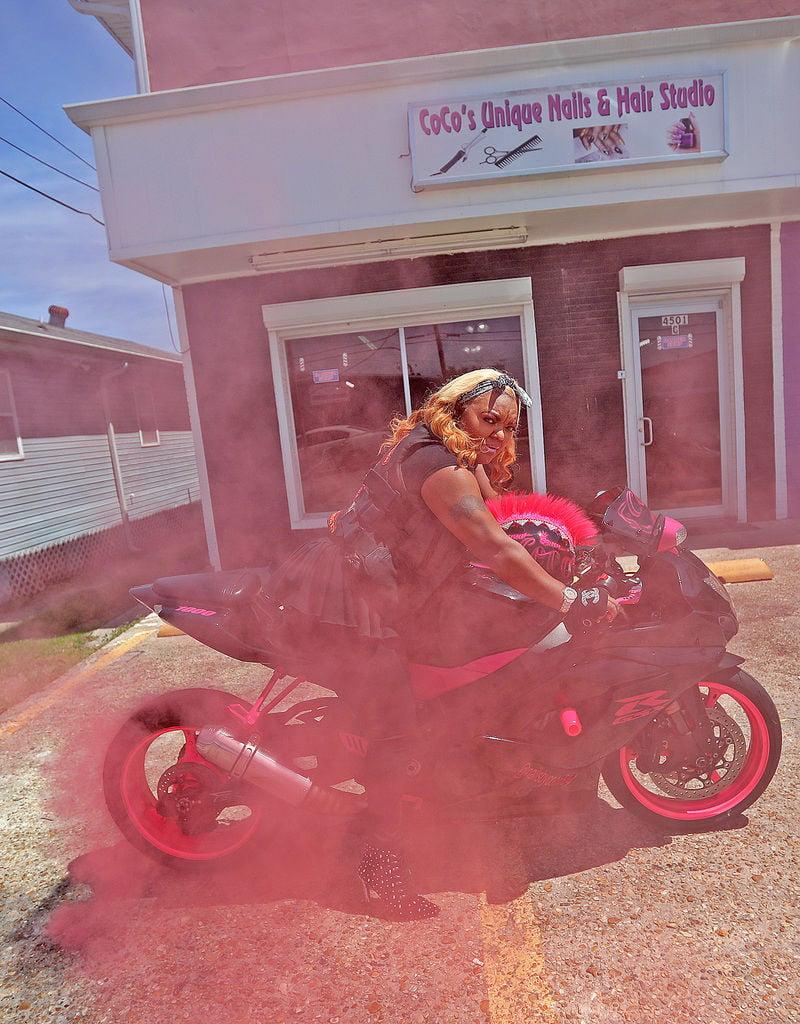 'The baddest biker girls in the world:' Meet New Orleans' Caramel Curves