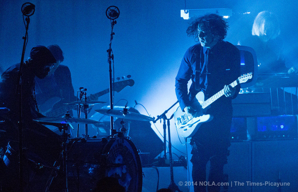 Guitarist Jack White showcased his highly curated aesthetic at New Orleans' Saenger Theatre