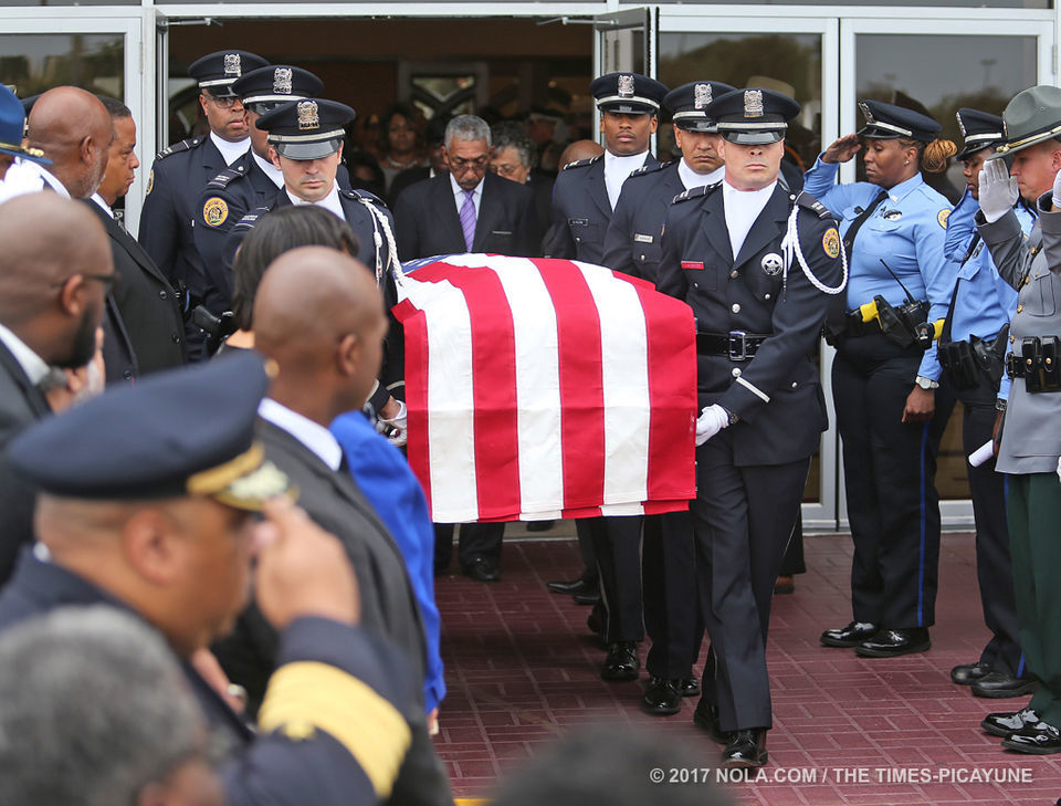 'He chose us': Slain New Orleans officer Marcus McNeil laid to rest