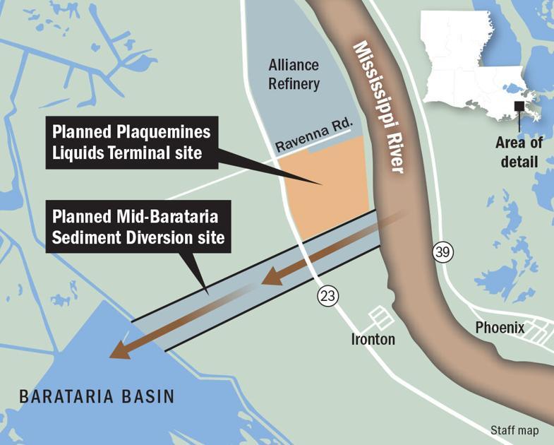 Amid climate change, controversial oil terminal $ 2.5B ahead in Plaquemines Parish |  Medium