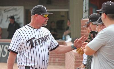 Lakeshore baseball coach Steve Ceravolo