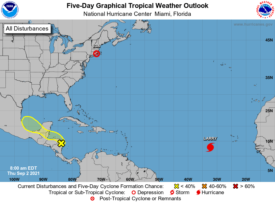 Tropical weather outlook 7am sep 2
