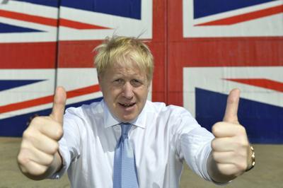 Britain Conservatives Boris Johnson
