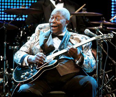 B.B. King lived up to his legend at New Orleans Jazz Fest