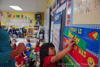 Louisiana Education Superintendent John White tours St. Tammany to talk childhood education, meet with teachers