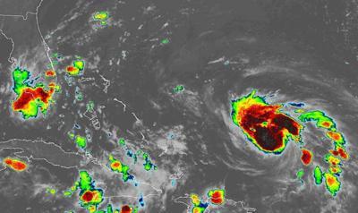 Hurricane Dorian 10 p.m. Aug. 29, 2019