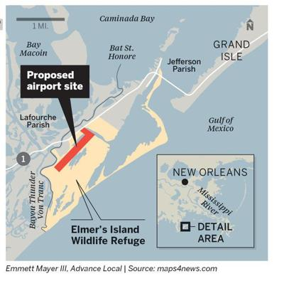 Louisiana wildlife commission to discuss Elmer's Island airport proposal
