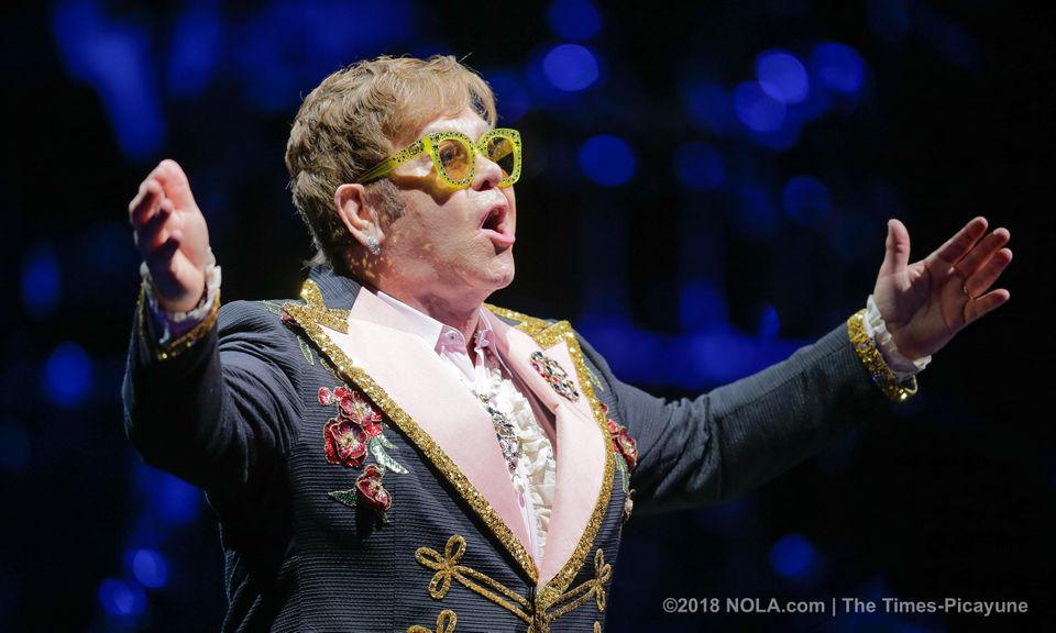 Elton John brings his 'Farewell Yellow Brick Road' tour to New Orleans' Smoothie King Center