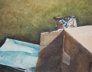 Lacombe artist Georgie Dussouy wins Artist of the Year; work goes on display