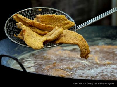 Fish fry Fridays during Lent around New Orleans, everybody's got a hungry heart