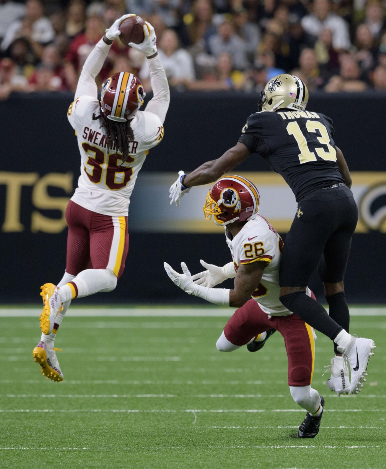 D.J. Swearinger returned to the Saints because they live in luxury ...