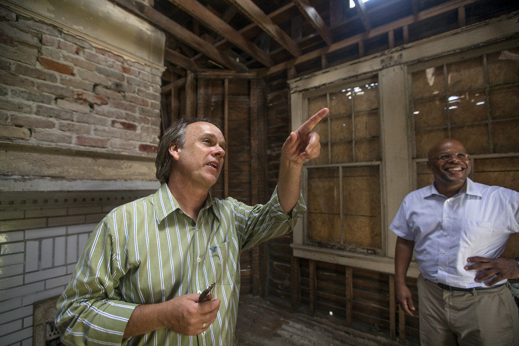 Common Ground Relief will restore historic home for exonerated man