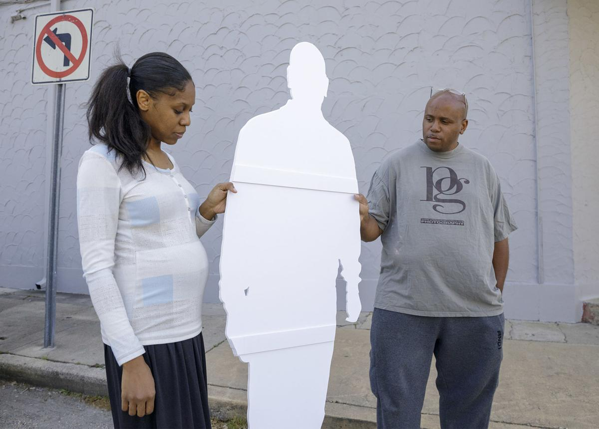 Celebrating life and death in New Orleans with life-size cutouts
