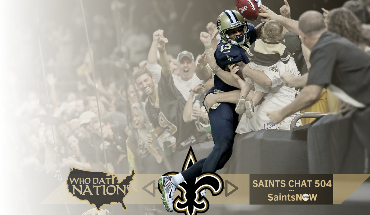 Saints now