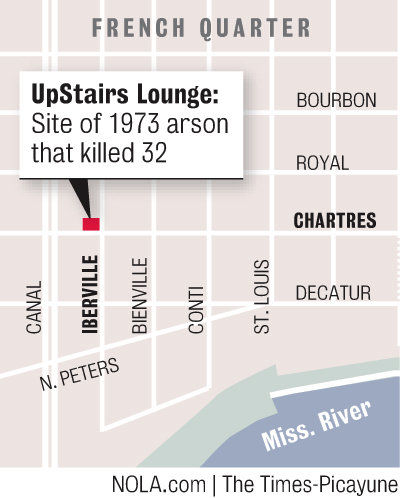 UpStairs Lounge fire provokes powerful memories 40 years later