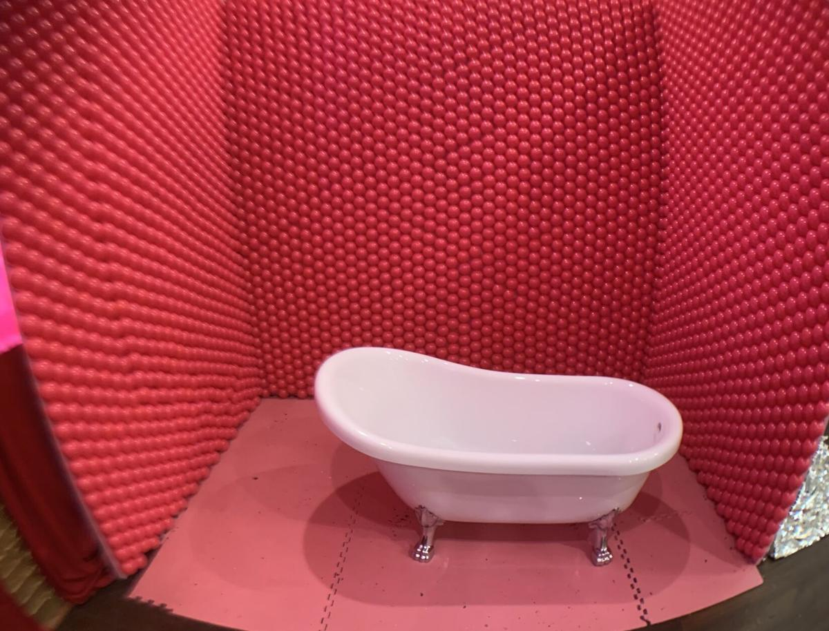 ARTmazing bathtub booth was supposed to be a pink ball pit, before coronavirus made that impossible..jpeg