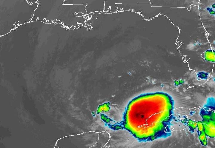 Tropical Storm Eta 730am Tuesday satellite