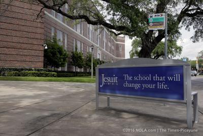 Jesuit High School campus archive photo