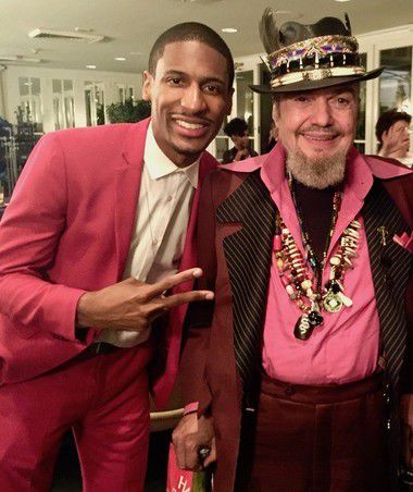 Dr. John gets ready for 'Late Show' with Colbert and Jazz Fest