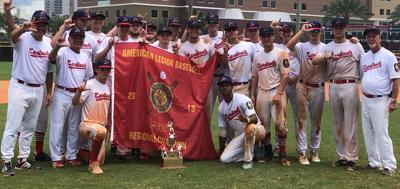 Pedal Valves Cardinals 2019 American Legion Baseball Southeast Regional champions