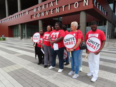 Unite Here at the Morial Convention Center
