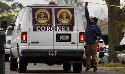 Orleans coroner van stock