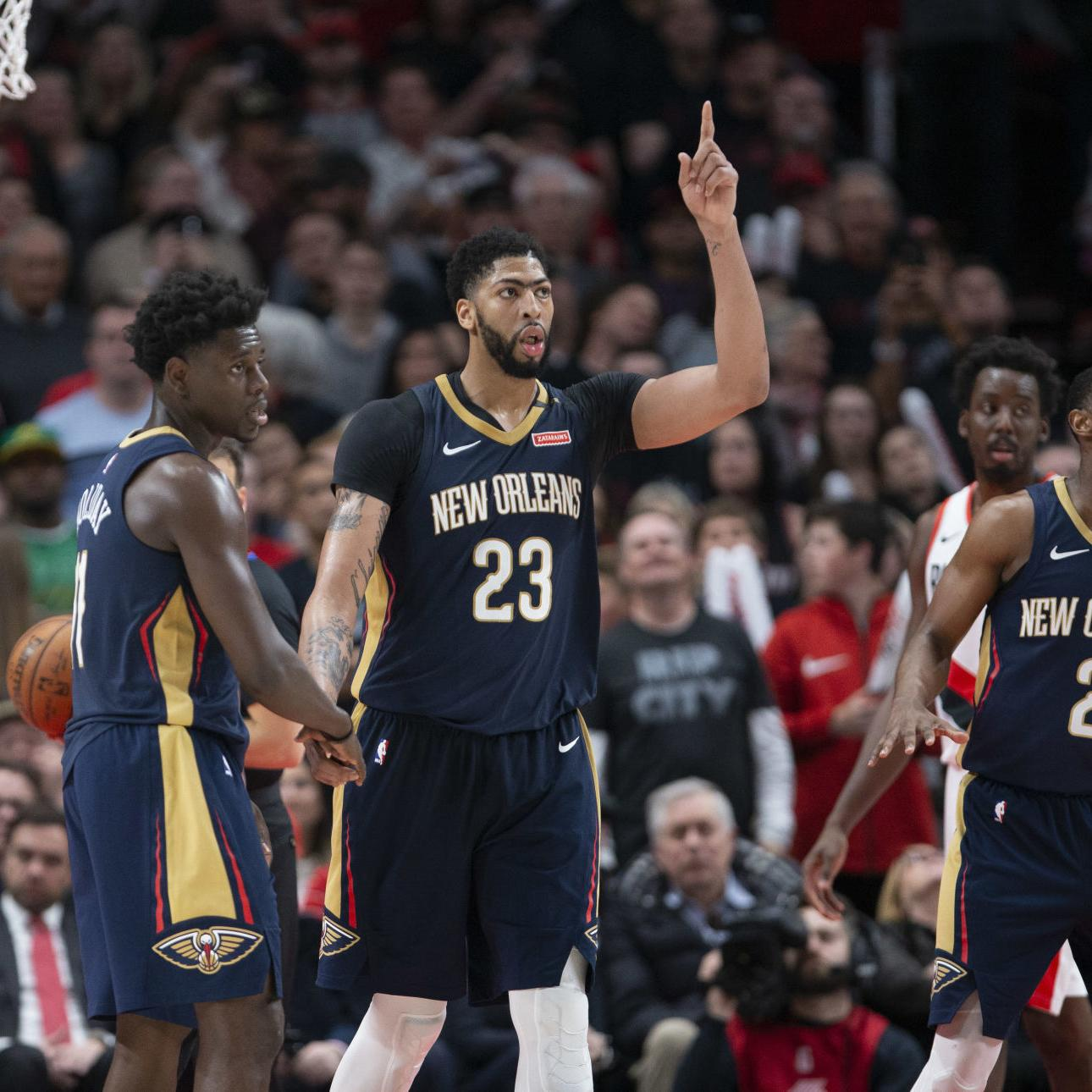 Pelicans to be on major NBA networks — ESPN, TNT — franchise