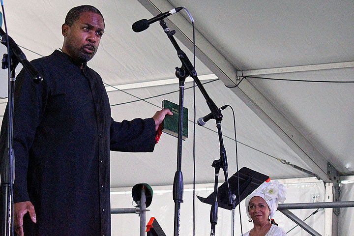 OperaCreole creates a living history lesson inside the New Orleans Jazz Fest's Kids Tent
