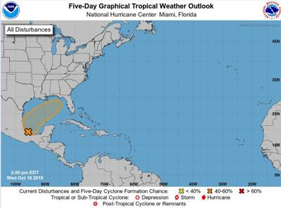 Tropical weather gulf of mexico 101619 7am