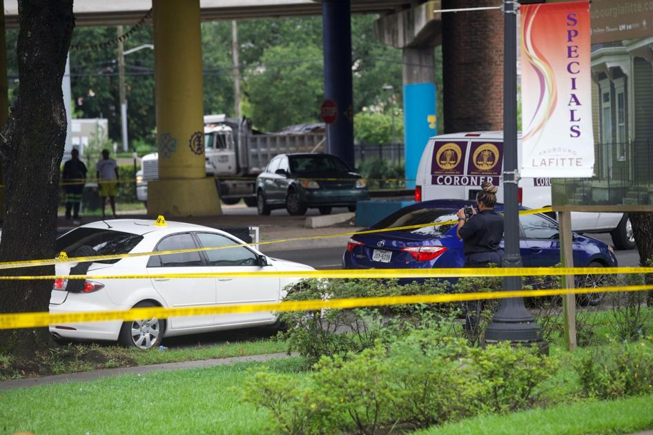 Man booked with murder after North Claiborne Avenue shooting claims self-defense