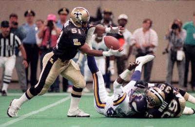 New Orleans Saints' 50 greatest players: No. 6, linebacker Sam Mills