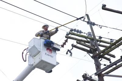 Entergy workers on standby for storm outages