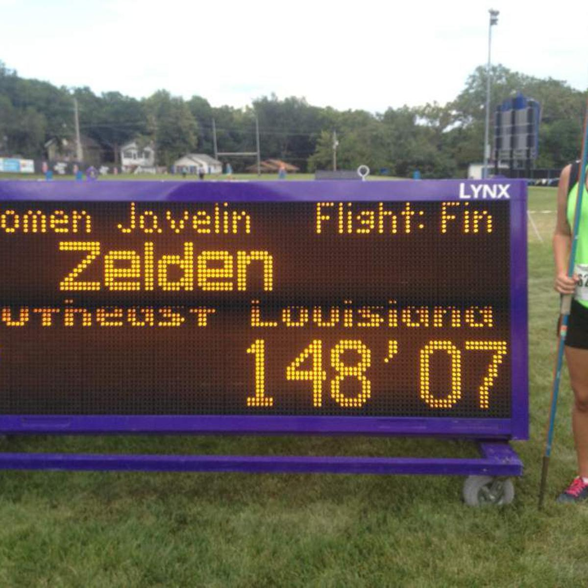 St. Scholastica's Samantha Zelden wins AAU Junior Olympics javelin title |  Prep Sports | nola.com
