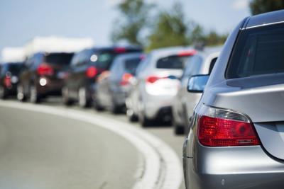 Traffic jam file photo