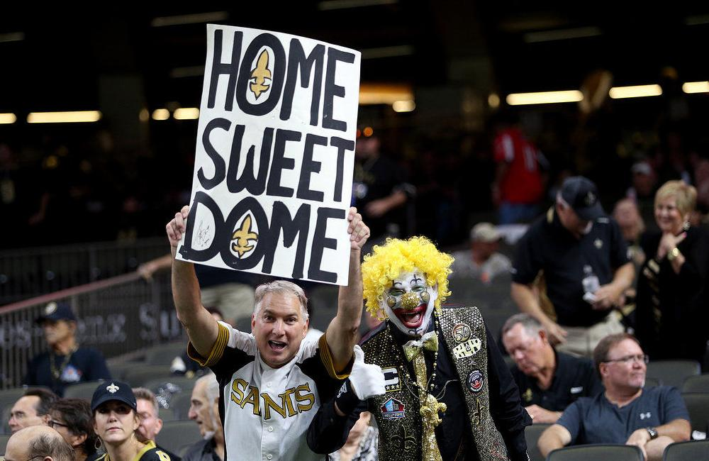 Sunday's Saints-Falcons matchup might be the biggest in the history of the rivalry
