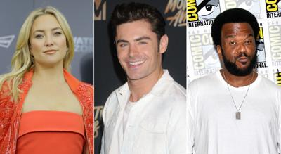 Kate Hudson, Zac Efron and Craig Robinson headed to New Orleans