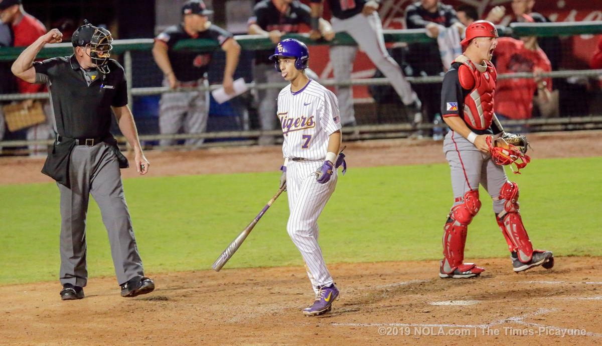 Two late home runs off Trent Vietmeier cost LSU in loss to UL-Lafayette