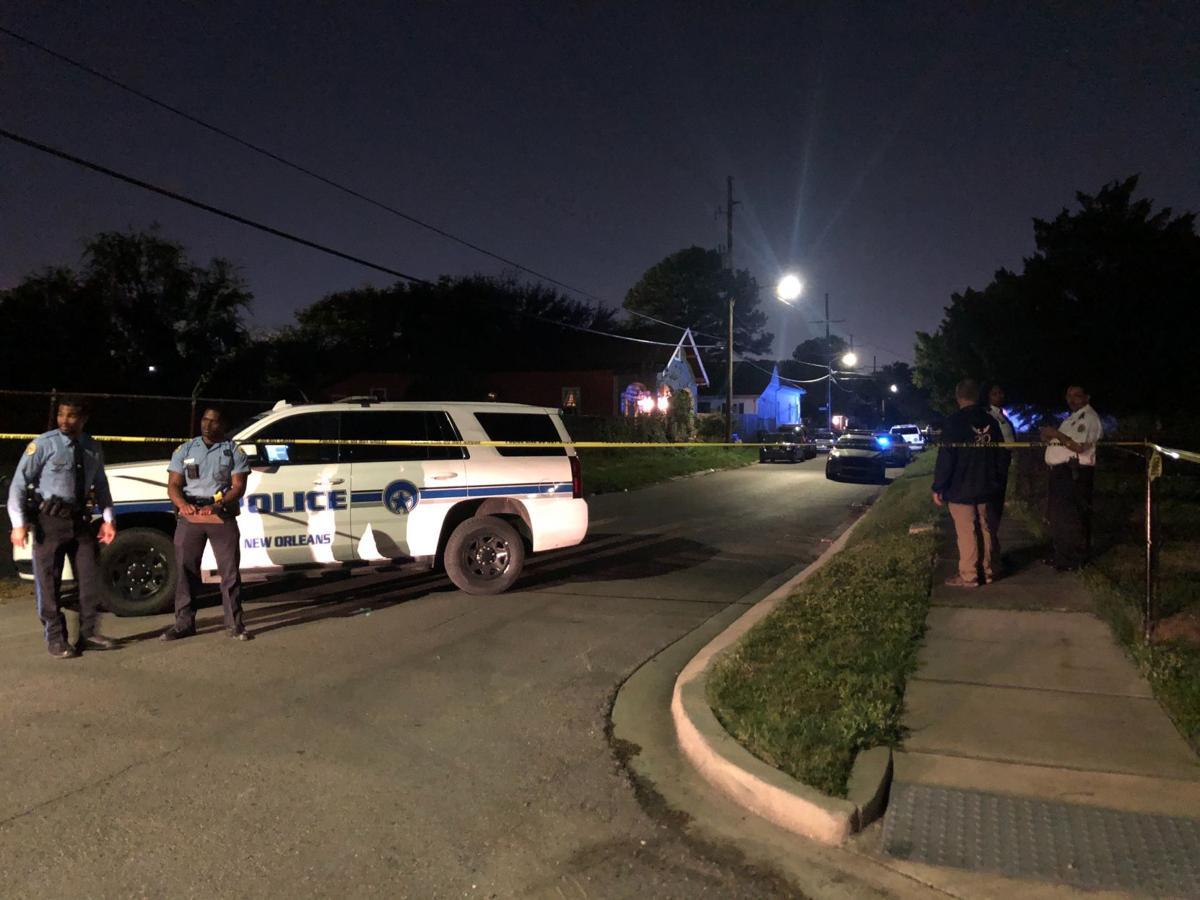 officer-involved shooting scene