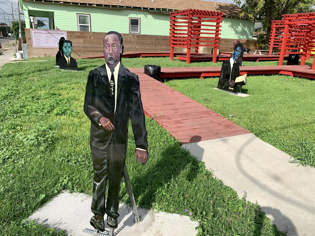 The SCLC Memorial Walkway Pavilion in Central City New Orleans – STAFF PHOTO BY DOUG MacCASH.jpeg
