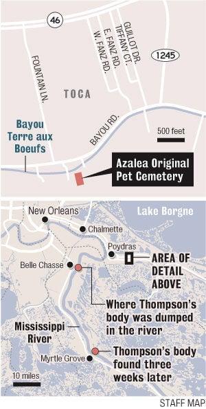 Suspect arrested in 1985 killing of pet cemetery owner in St. Bernard Parish
