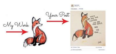 New Orleans artist pens open letter to Taylor Swift for copied art