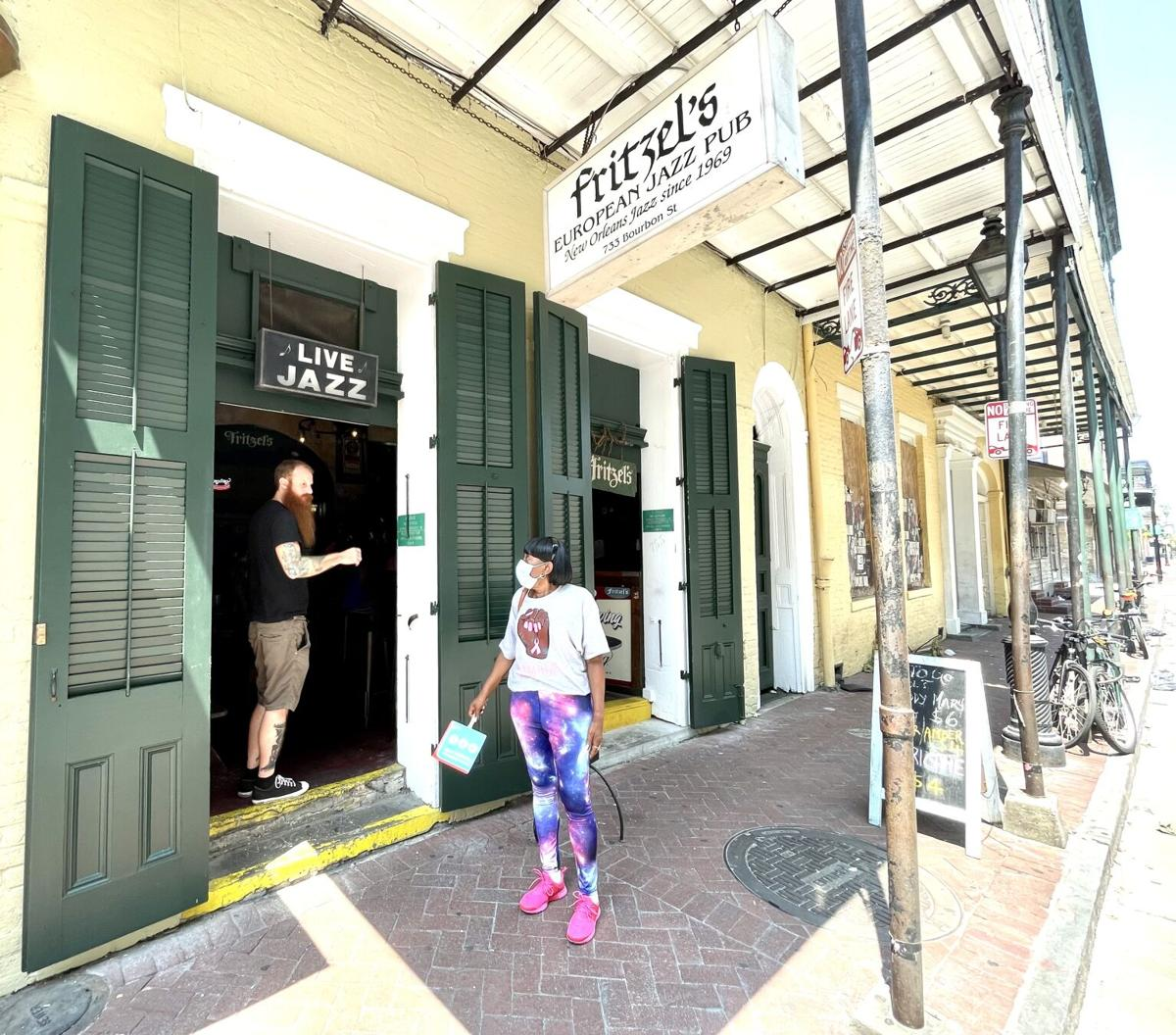 With power restored, Fritzel's European Jazz Pub was open, airconditioned, and relatively crowded(Photo by Doug MacCash, NOLA.com  The Times-Picayune  The New Orleans Advocate).jpeg