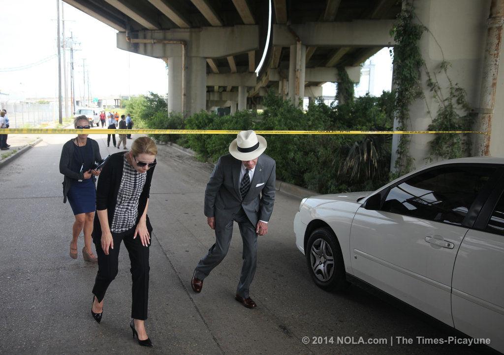 Arrest made in death of woman found under Desire-area overpass